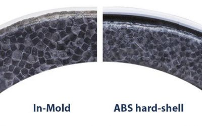 ABS hard-shell or in-mold
