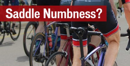 Felling-painful and-saddle numbness-on-the-bike